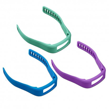 GARMIN Purple/Teal/Blue ,Small (vivofit® Bands)