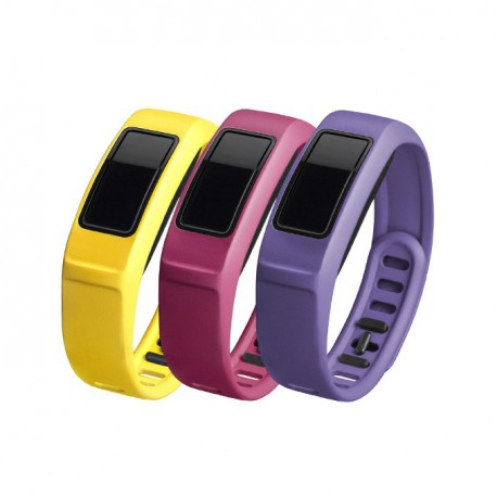 GARMIN Energy , Canary, Pink ,Violet , Large , vívofit® 2 Bands