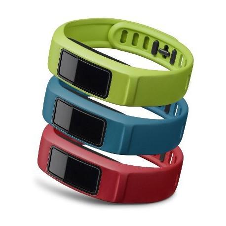 GARMIN Active , Red , Blue , Green , Small vívofit® 2 Bands
