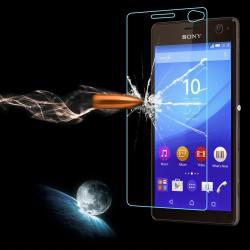 محافظ صفحه نمایش شیشه ای Sony Xperia c4