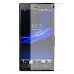 محافظ صفحه نمایش شیشه ای Sony Xperia C3 Dual