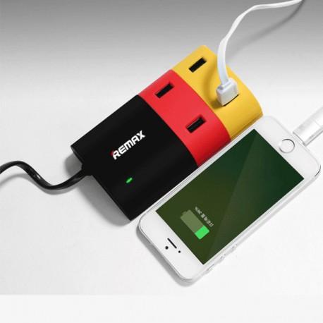 شارژر رو میزی 4پورت ریمکسRemax 4 Port USB Hub Charger