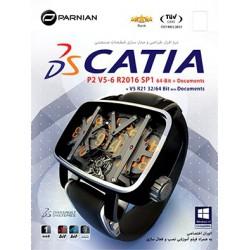 نرم افزار طراحی و مدل سازی قطعات صنعتی CATIA P2 V5-6R2016 SP1 , 64-Bit