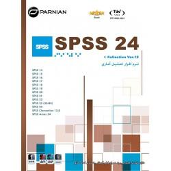 نرم افزار تحلیل آماری SPSS 24 & Collection , Ver.12-Back