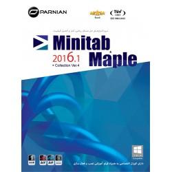 مجموعه نرم افزارهای مینی تب و میپل Minitab & Maple Collection 2016.1, Ver.4