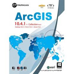 تحلیل اطلاعات مکانی ArcGIS 10.4.1 + Collection , Ver.6