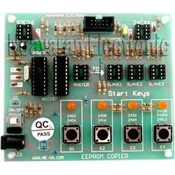 پروگرامر و کپی کننده حافظه های (EEPROM ) AT24XX , AT93XX مدل NEC107