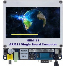 مادربرد و برد آموزشی پروسسور (ARM11 (S3C6410 مدل NEM111