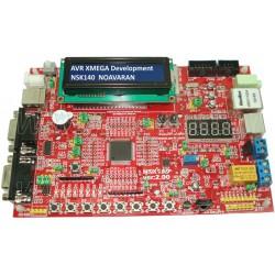برد آموزشی  AVR XMEGA مدل ATXMEGA128A3U - NSK140