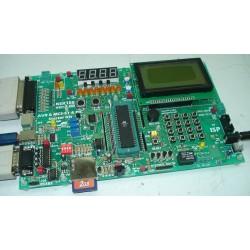 برد آموزشی میکروکنترلرهای AVR , PIC , MCS-51 و PC Interface