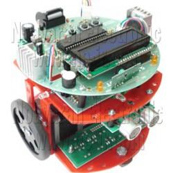 مجموعه آموزشی پنج ربات با میکروکنترلر AVR ATMEGA32A