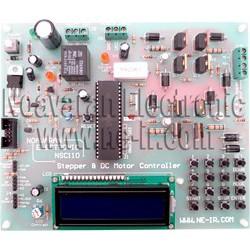 برد کنترلر موتورهای پله ای یا استپر موتور و موتورهای DC یا مینی PLC مدل NSC110