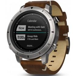 ساعت ورزشی گارمین مدل GARMIN fenix Chronos با بند چرمی