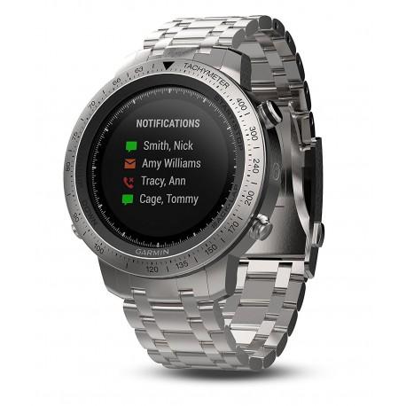 ساعت ورزشی گارمین مدل GARMIN fenix Chronos با بند استیل