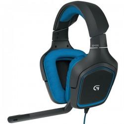 هدست مخصوص بازي با صداي سورراند لاجيتک مدل  Logitech G430 Surround Sound Gaming Headset