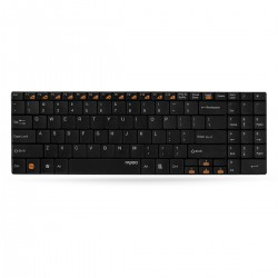 کيبورد بيسيم رپو مدل Rapoo E9070 Wireless Keyboard With Persian Letters با حروف فارسي