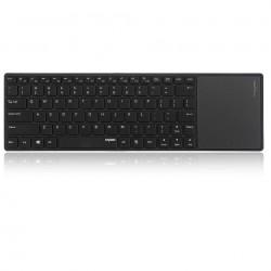 کيبورد بيسيم رپو مدل Rapoo E6700 Bluetooth TouchPad Keyboard With Persian Letters با حروف فارسي