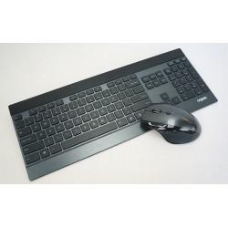 کيبورد و ماوس بيسيم رپو مدل Rapoo 8900p Wireless Keyboard and Mouse With Persian Letters با حروف فارسي
