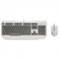 کيبورد و ماوس مخصوص بازي رپو مدل Rapoo V100C Gaming Keyboard and Mouse