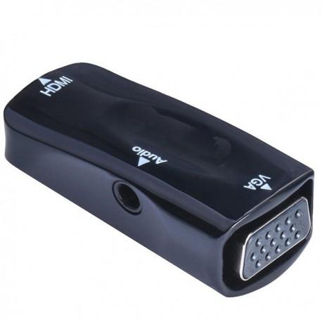 تبدیل HDMI ماده به VGA ماده