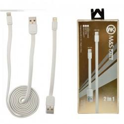 کابل شارژ و دیتا موبایل اپل و سامسونگ با فناوری ترکیبی
