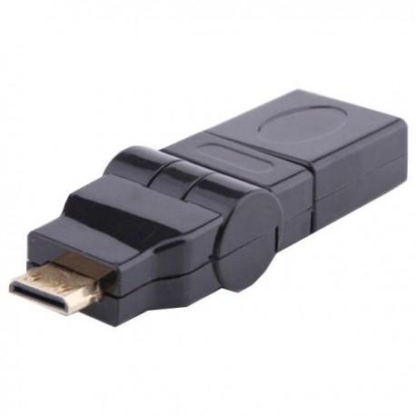 تبدیل HDMI ماده به Mini HDMI نری با قابلیت چرخشی