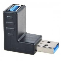 تبدیل نری به مادگی USB3 با زاویه ۹۰ درجه