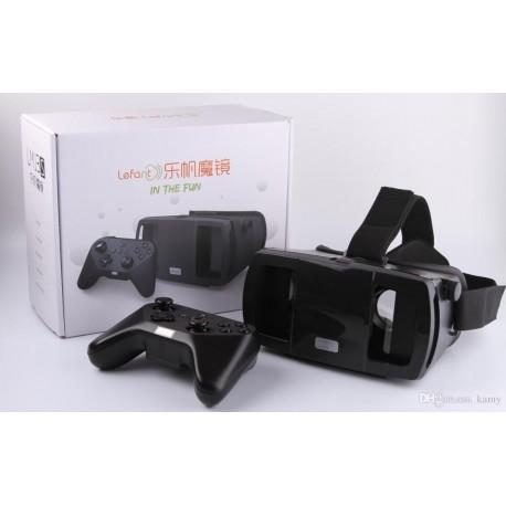 عینک سه بعدی Lefant 3D VR همراه با دسته بازی بلوتوثی