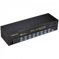 اسپلیتر ۱ به 16 پورت (VGA 350 MHZ)