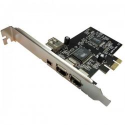 کارت PCI EXPRESS 1394 با سرعت 400 Mbps