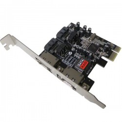 کارت PCI EXPRESS SATA 3 اینترنال