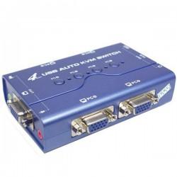 KVM سوئیچ 4 پورت USB اتوماتیک (مارک KNET)