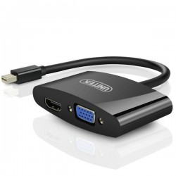 تبدیل Mini Display Port به HDMI و VGA (مارک UNITEK)